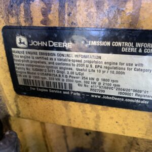 John Deere 6125 motor